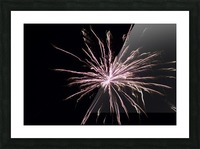 Explosion Picture Frame print