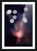 Rocket Thrust Picture Frame print