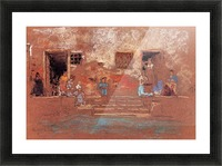 The Steps by Whistler Picture Frame print