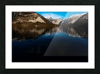 Beautiful Blue Picture Frame print