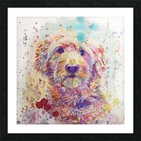 Goldendoodle - Portrait of Link Picture Frame print