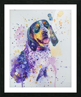 Beagle Dog - Lily Belle Picture Frame print