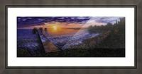 Sylvan Lake Picture Frame print