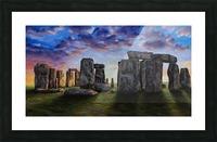 stonehenge Picture Frame print