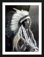 Chief Picture Frame print