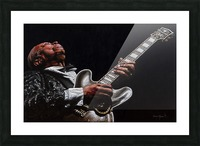 BB King Picture Frame print