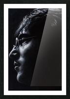 john lennon Picture Frame print