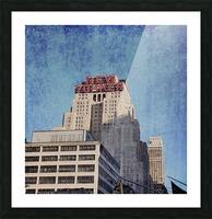 new york med Picture Frame print