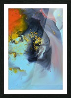 Liquid series 09 Picture Frame print