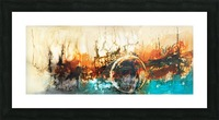 Abstract 46 Picture Frame print