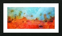 Abstract 45 Picture Frame print