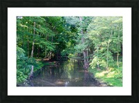 Holley Erie Canal Falls 3 Picture Frame print
