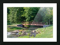Holley Erie Canal Falls 5 Picture Frame print