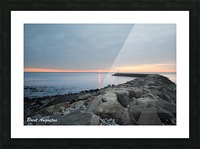New England Sunrise Picture Frame print