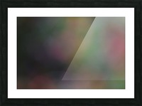Abstract Art Photograph Bokeh - Red White Yellow and Green Picture Frame print