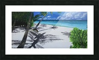 Shadow Beach by Robert Clark Picture Frame print