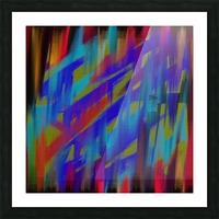 Abstract Me Picture Frame print