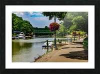 Erie Canal Vacation Picture Frame print