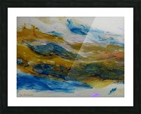 Amber River Picture Frame print