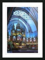 Basilique Notre-Dame Montréal Picture Frame print
