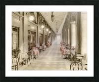 Café Place Saint-Marc Venise Picture Frame print