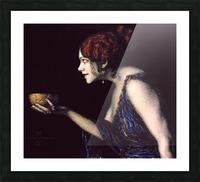 Tilla Durieux as Circe by Franz von Stuck Picture Frame print