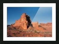 Desert Scape Picture Frame print