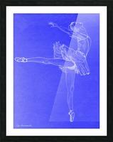 Celestial Ballerina Picture Frame print