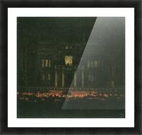 Torches by Franz von Stuck Picture Frame print