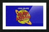 alien asylum Picture Frame print