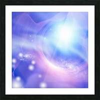 Galaxies Picture Frame print