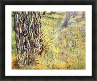 Tree trunks by Van Gogh Picture Frame print