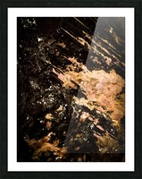 Mineral Gold  Impression et Cadre photo