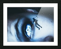 Lost In Your Eyes Picture Frame print