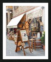Delicatessens Castiglione del Lago Picture Frame print