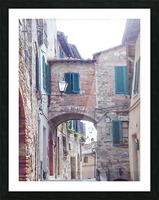 Alleyway Cetona Tuscany Picture Frame print