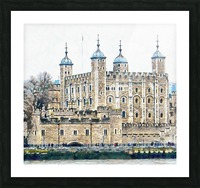 Tower of London 2 Picture Frame print