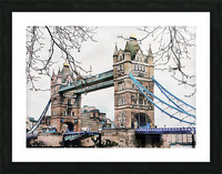 Tower Bridge London Picture Frame print