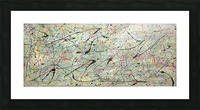 ABSTRACTION SPACIALE Picture Frame print
