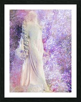An Angel Awaits Picture Frame print