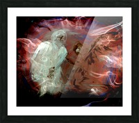 Bens Angel 10 Picture Frame print