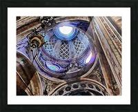 Altare Gregorianum Picture Frame print