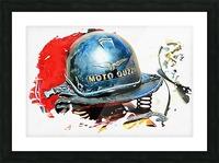 Moto Guzzi Picture Frame print