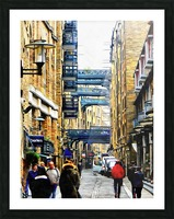Shad Thames Street View Picture Frame print