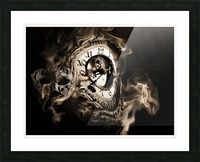 Father Time Picture Frame print
