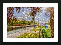 Lock 33 Park Picture Frame print