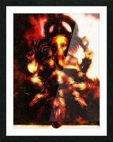 Ganesh The Elephant God Picture Frame print