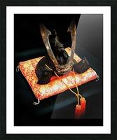 Samurai Helmet With Tassels Picture Frame print