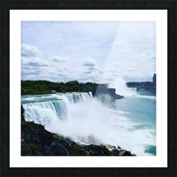 Niagara Picture Frame print