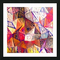 Modern Digital Abstract Painting Picture Frame print